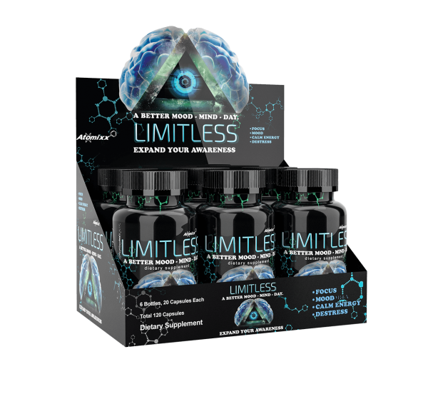 limitless mood enhancers 6 bottle bundle
